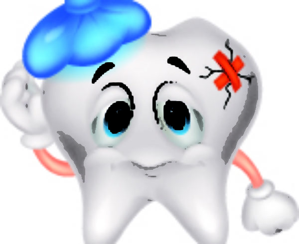 Sick Tooth Character