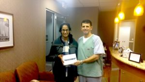Rupa B. 4th Quarter iPad Mini Winner