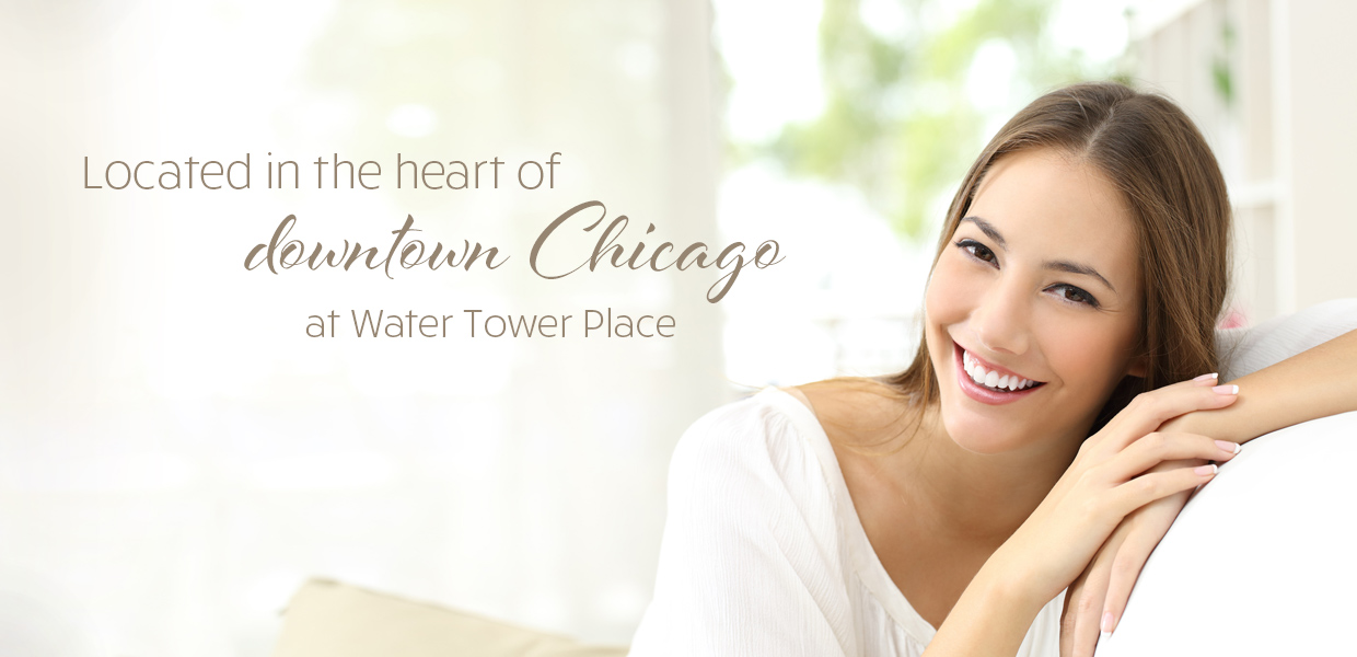 Located in the heart of downtown Chicago at Water Tower Place
