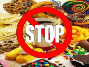 Stop eating bad foods